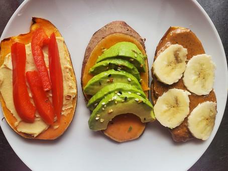 Kickstart Your Day with Sweet Potato Toast