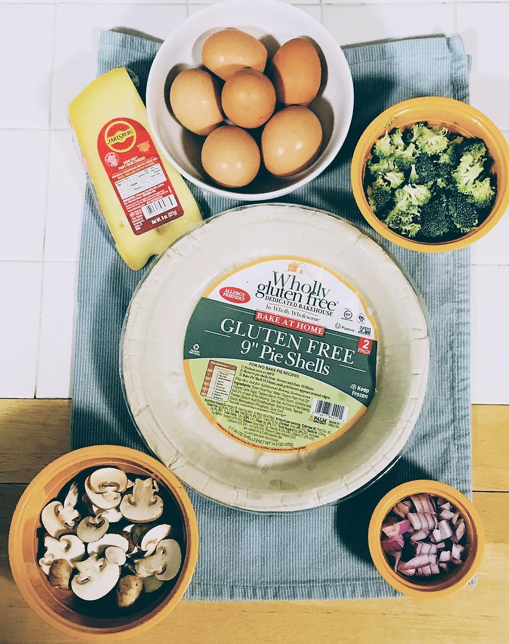 recipe for vegetarian quiche