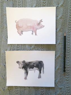 Kit chancho vaca