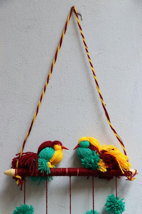 Handmade Sparrow Hanging