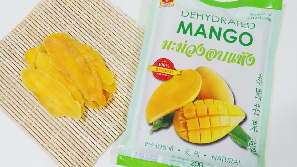 Soft Dried Mango 200g.