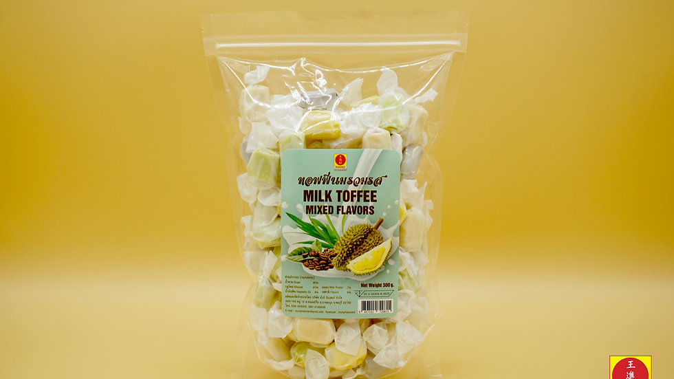 Milk Tofee - Mixed Flavors 300g.