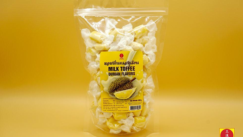 Milk Toffee - Durian Flavor 300g.