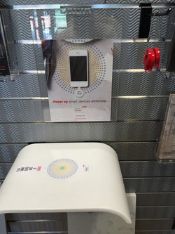 Corian Wireless Charging Countertop