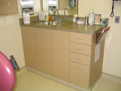 Exam Room Cabinets