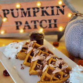 Pumpkin waffles, pumpkin cookies and pumpkin lattes launch at Daily Jam!