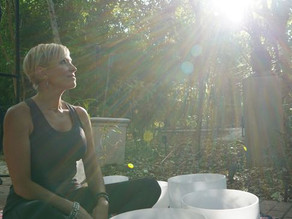 Try a healing sound bath with Cary of Shanti Sound