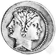 god-coin-beardless-Janus-Roman-Bibliothe