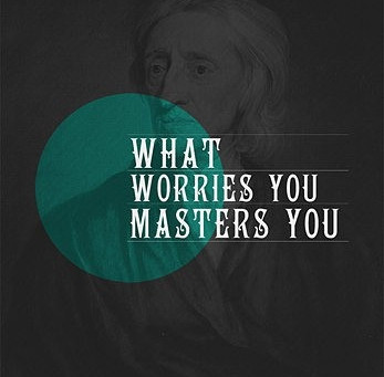 How to  worry and let it overtake your life.