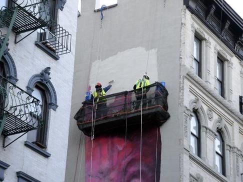 Carolina Falkholt, Lower East Side, New York