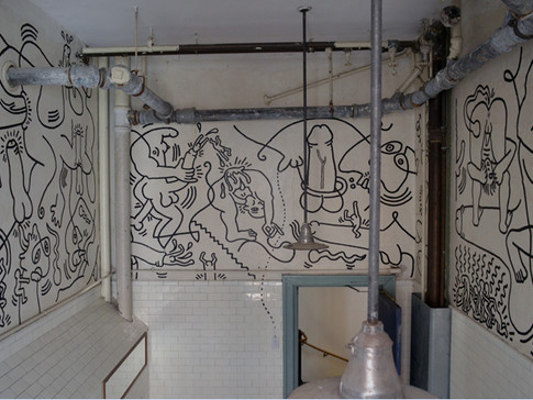 Keith Haring, Once Upon a Time (1989) at the New York LGBT Center