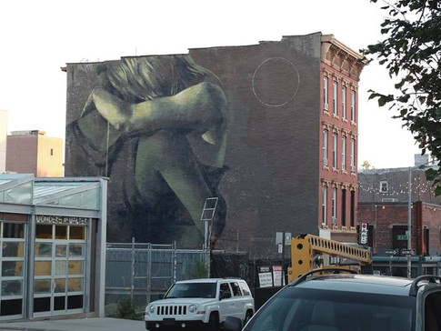 Faith 47, Lay Your Weapons Down, Williamsburg, NYC, 2015