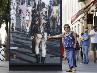 Gay Pride Photo Exhibition, Seville, Spain, by Paco Puentes