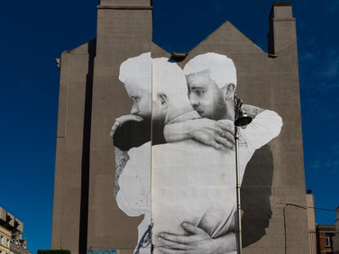 Joe Caslin, Yes Equality (male couple), Dublin