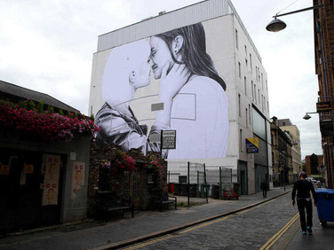 Joe Caslin, Yes Equality (female couple), Belfast