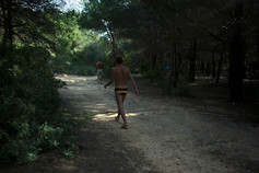Katia Repina and Luca Aimi. I Don´t Need To Know You; an ongoing joint transmedia project in Cataluña, Spain.