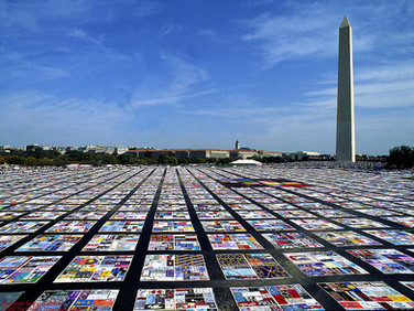 The NAMES Project AIDS Memorial Quilt, Washington D.C., 1987, 1996, 2012