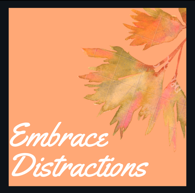Meditation Tip: Embrace Distractions