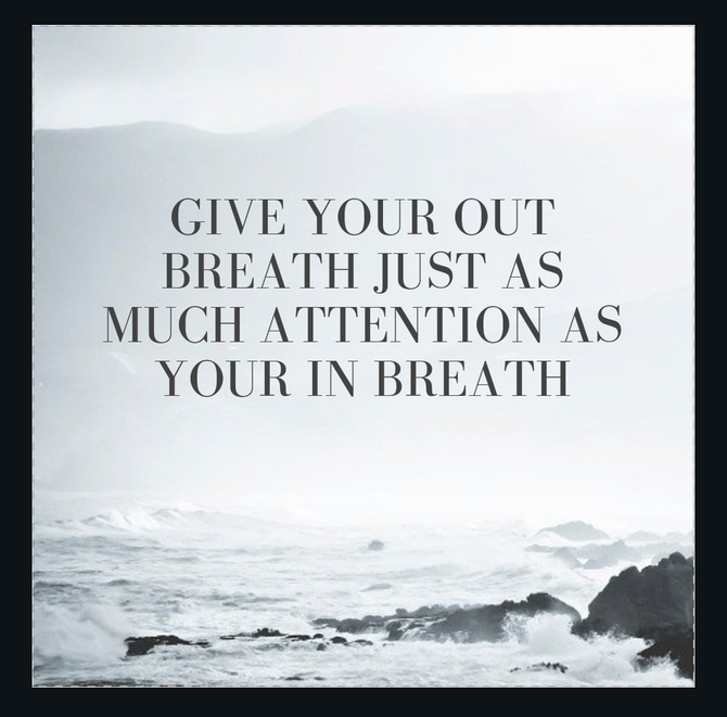 Meditation Tip: Give your Exhale the Attention it Deserves