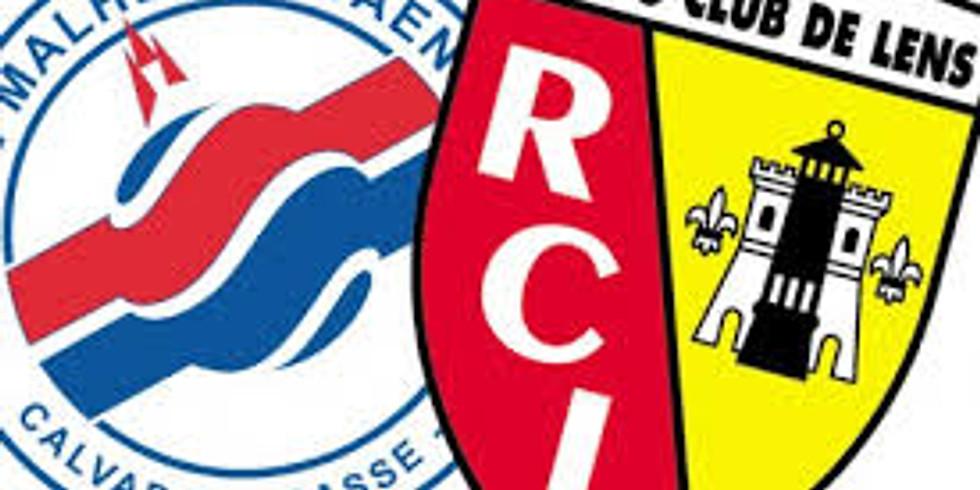 Match de ligue 2 Lens Caen