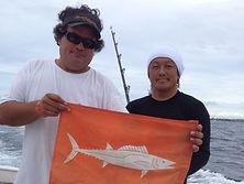 ハワイ島のサーフィング教室とイルカに出会えるコースそしてレンタルボートたカールさん担当のジェームズさん