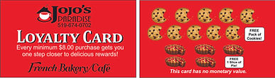 Customer Loyalty Cards