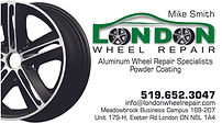 London Wheel Repair Business Card