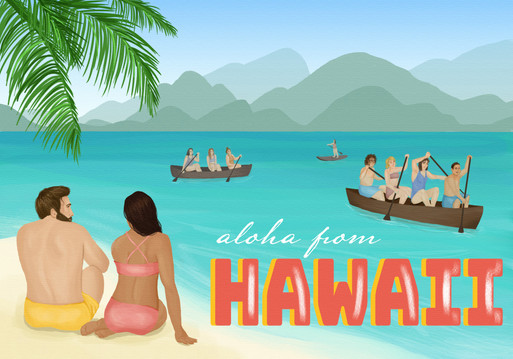 Hawaii Postcard