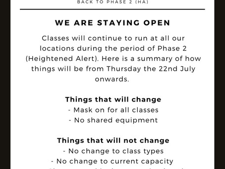 Phase 2 (HA) Update