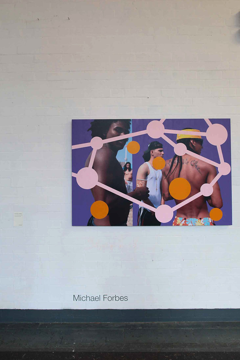 Curated by Michael Forbes, work Michael Forbes, Primary, Paintings, Drawing,