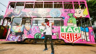 Tag Heuer x Alec Monopoly Graffiti Event