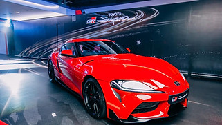 Toyota Supra Launch
