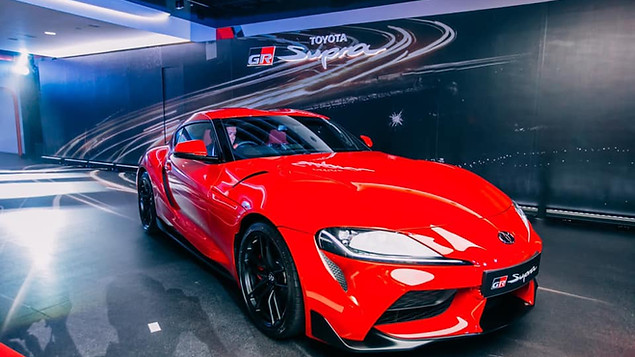 Toyota Supra Launch