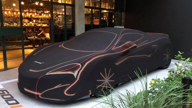 McLaren 600 LT Launch