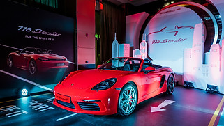 Porsche 718 Boxster Launch