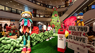 Harbour City x Anne Galante Christmas