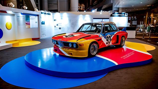BMW Art Car at Art Basel 2019