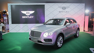 Bentley Bentayga Launch
