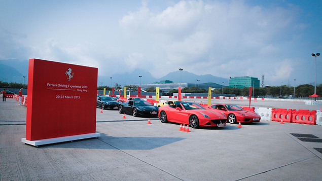 Ferrari Driving Experience in AWE 2015