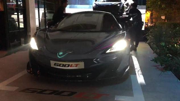 McLaren 600LT 3D Projection