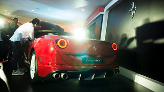 Ferrari California T Launch 2014