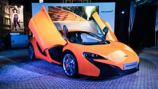 McLaren 625s Launch