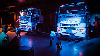 FUSO Heavy Duties Trucks launch in HK