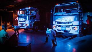 FUSO Heavy Duties Trucks launch in HK