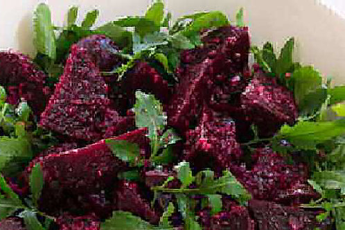 Roast Beetroot, Roquette and Quinoa Salad