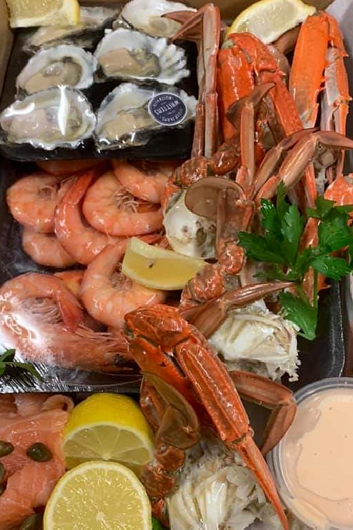 Seafood Box for 2 with Fresh Crabs