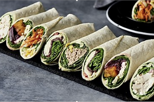 Roasted Veggie Wrap
