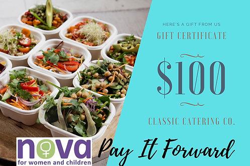 $100 Gift Voucher NOVA