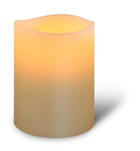 Ivory Pillar Candle - small