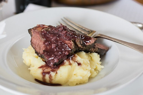 Braised Beef Cheeks with Creamy Mash